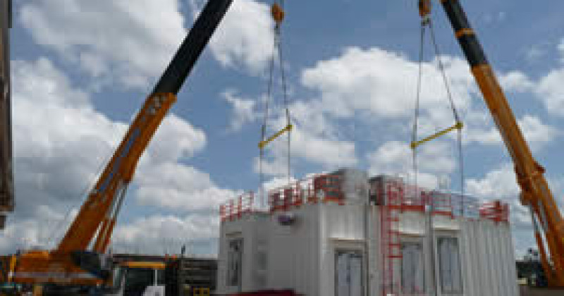 Supply Of Containerized Equipment Rooms (CER) For Onshore / Offshore Location – Mampak Platform Project (MMDP-01) Electrical Equipment Room (EER) & Local Control Room (LCR) – Pressurised