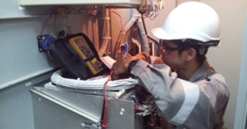 Gadong Power Station GTG23 – Gas Detection System & CO2 Fire Protection Panel Replacement – Mar 2014
