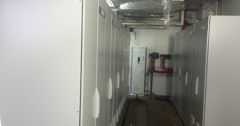 CPID Containerized  Equipment Room