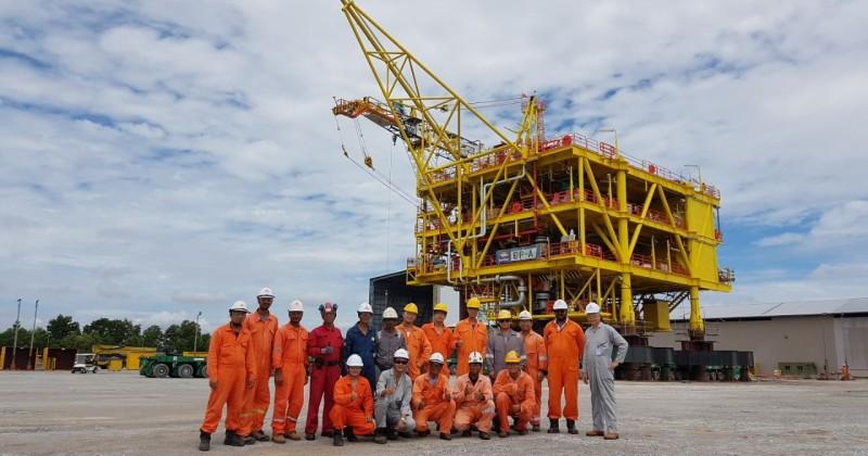 Bunga Pakma A Wellhead Riser Platform Project- Kuching, Malaysia